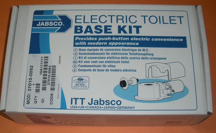 37045 37245 KIT CONJUNTO BASE JABSCO 37004-1000 PARA WC eléctrico serie 37010
