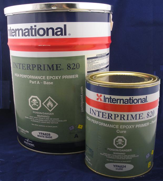 High Performance Epoxy : Interlux interprime epoxy gallon kit ebay