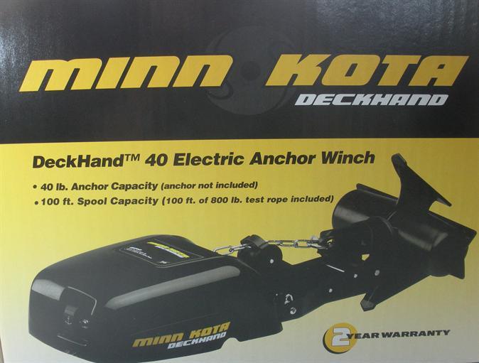 Minn kota 1810140 electric anchor winch 19791 ebay for Minn kota electric motor for sale