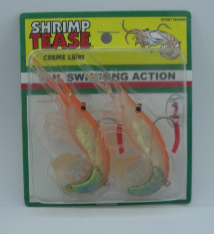1//5//10 Shrimp Rigs Glow In The Dark Luminous Baits Saltwater Fishing Lures Catch
