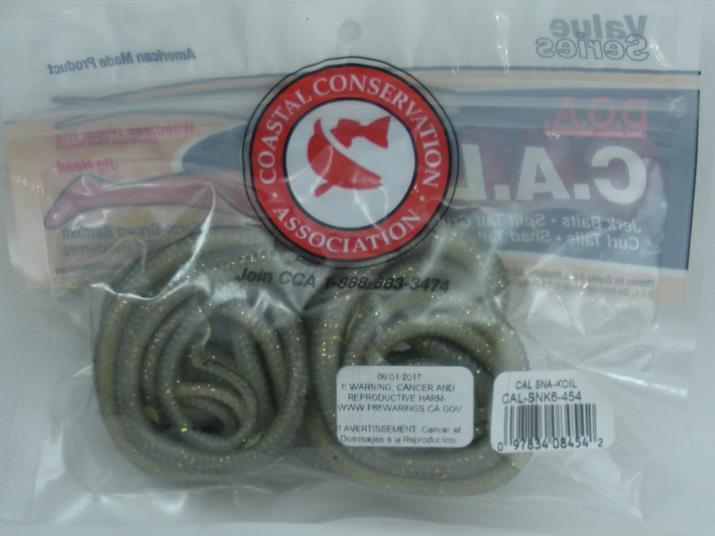 "DOA CAL-SNK-454 Sna-Koil 12/"" Snake Glodini 25654"