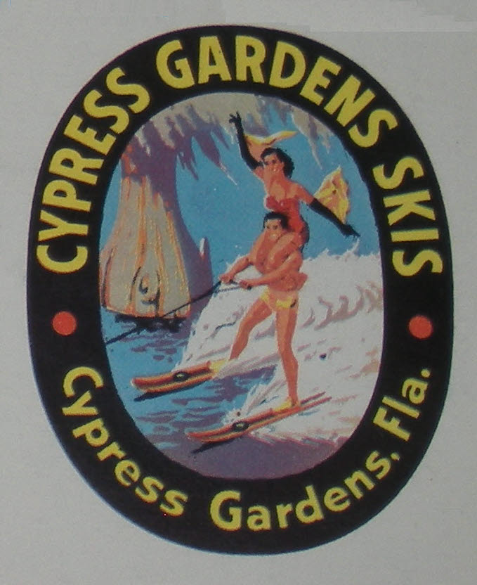 Cypress Gardens Skis VLC Ski Line Caddy 25786